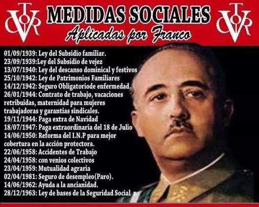 Medidas sociales de Franco