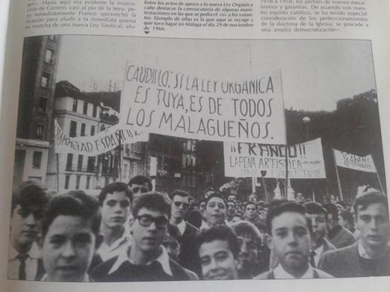 Pancarta referendum 1966