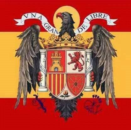 Image result for bandera espanola franco