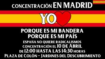 Concentración-en-Madrid-porque-yo-amo-España-Estado-Nacional-Español