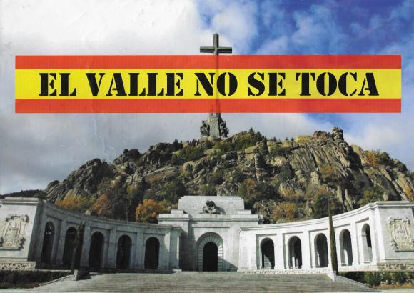 Cartel Valle no se toca-alta 2