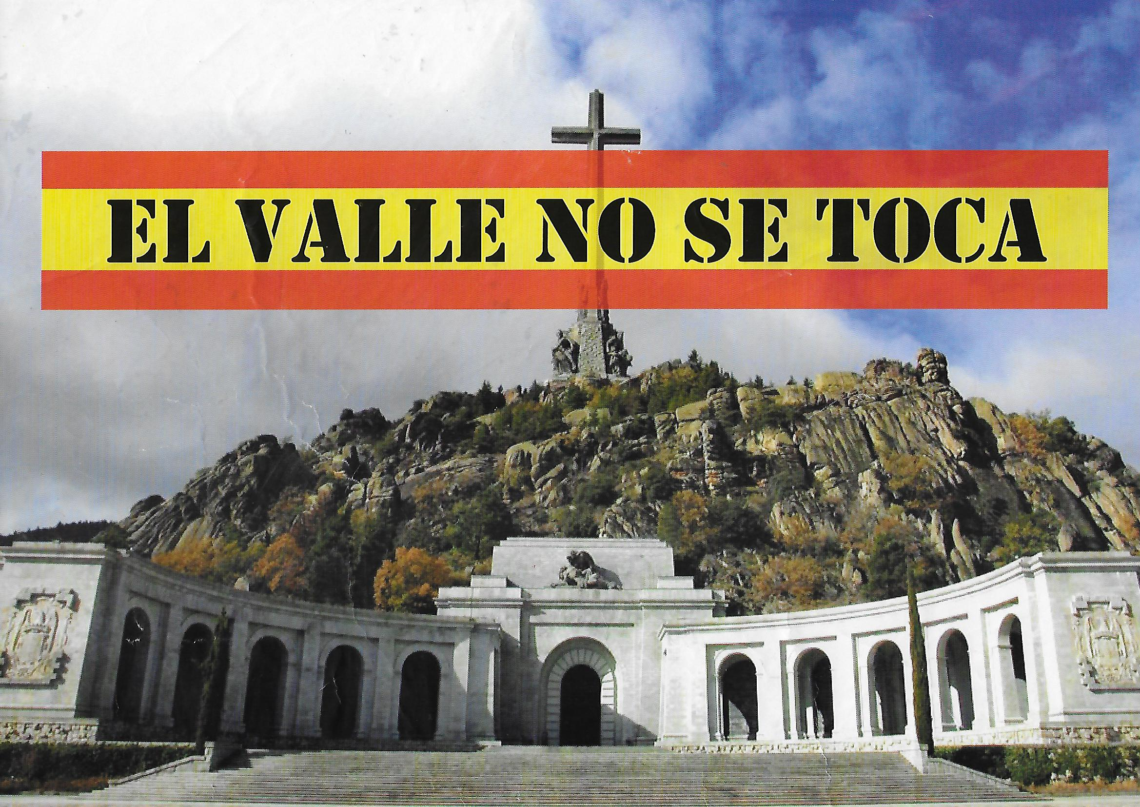 CARTEL VALLE NO SE TOCA