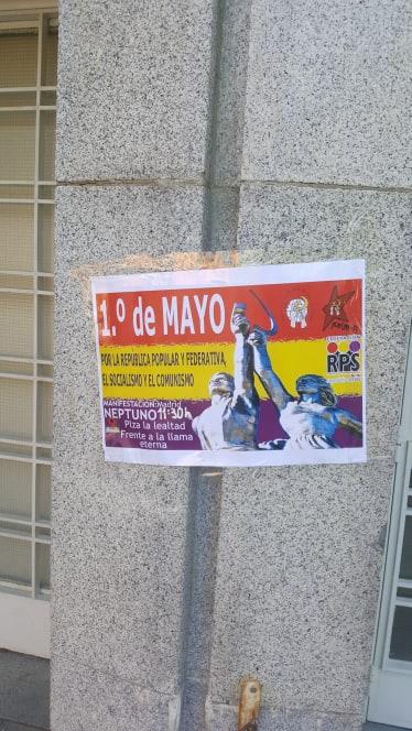 cartel 1 de mayo 2019