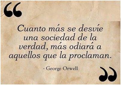 Cita de Orwell